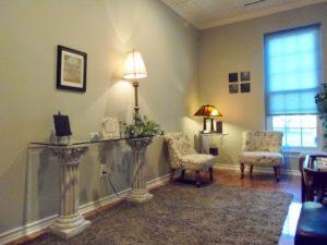Morrison Clinic psychiatry lobby